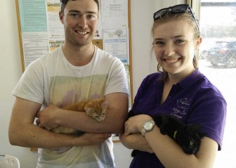 Ninja and Little Miss Sunshine Adopted